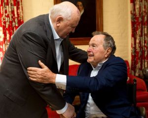 Gorbachev and Bush
